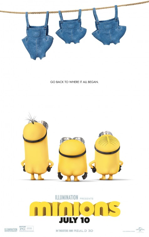 Minions Movie Poster designed by LA