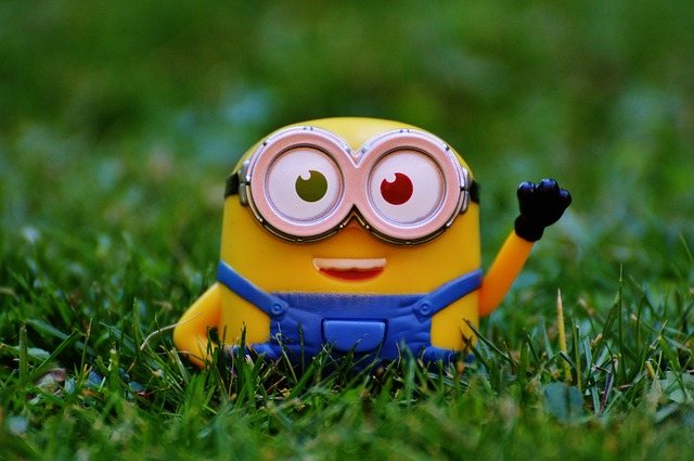 Minion excited about Minions Movie