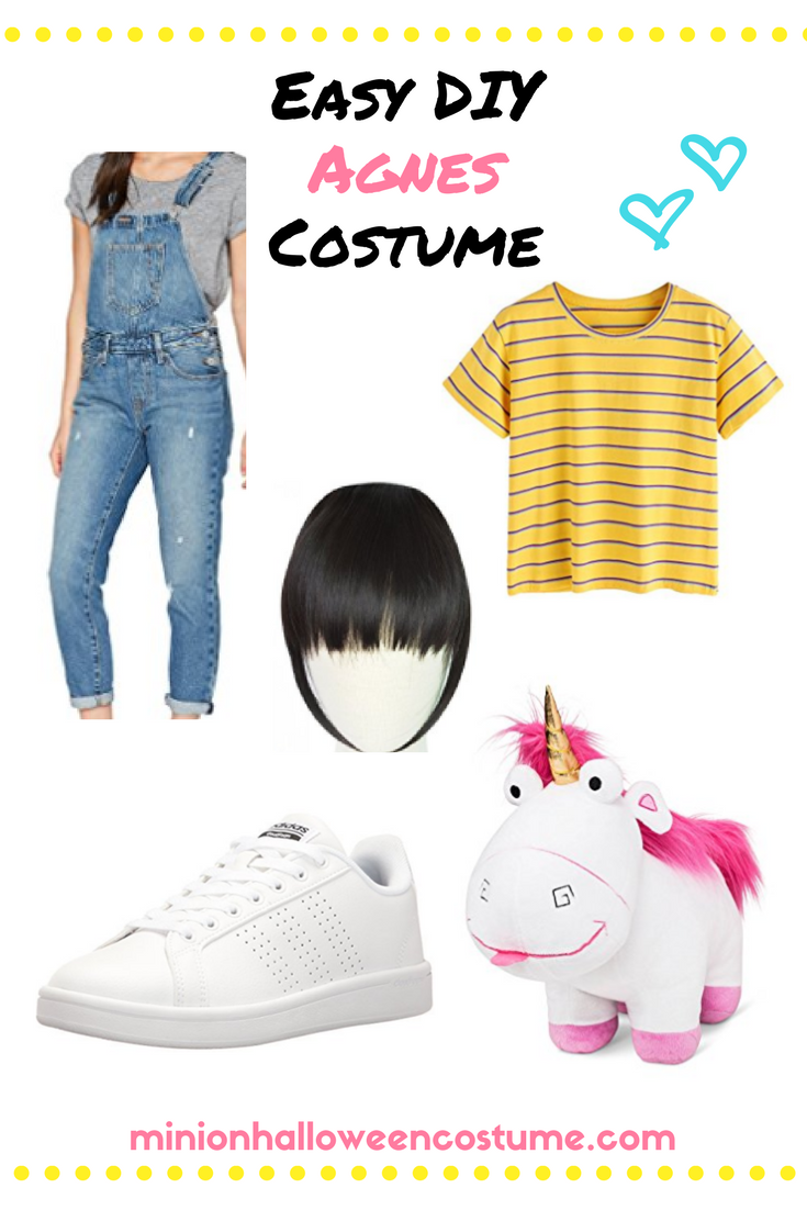 Easy DIY Agnes Costume