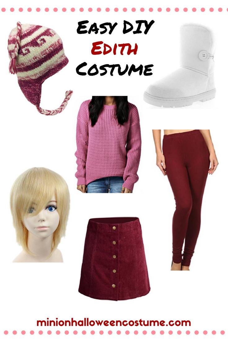 Easy DIY Edith Costume