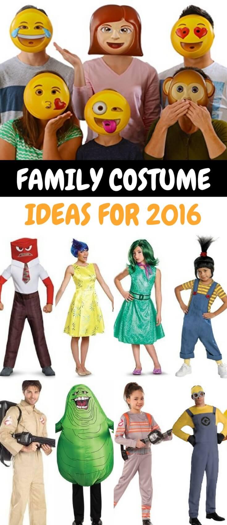 Family Costume Ideas 2016