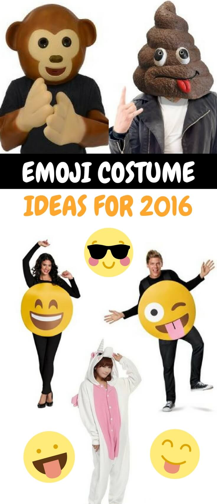 Emoji Costume Ideas 2016