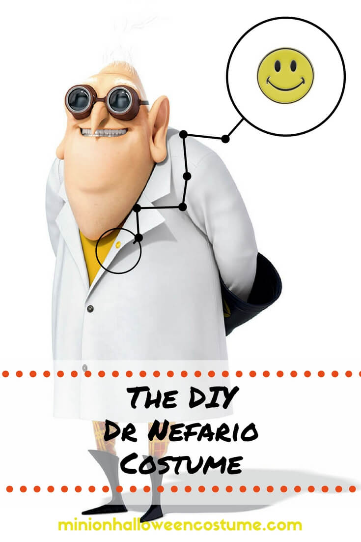The DIY Dr Nefario Costume