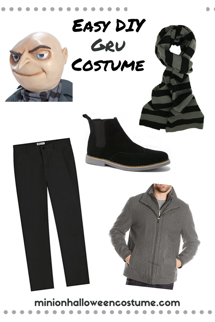 Easy DIY Gru Costume