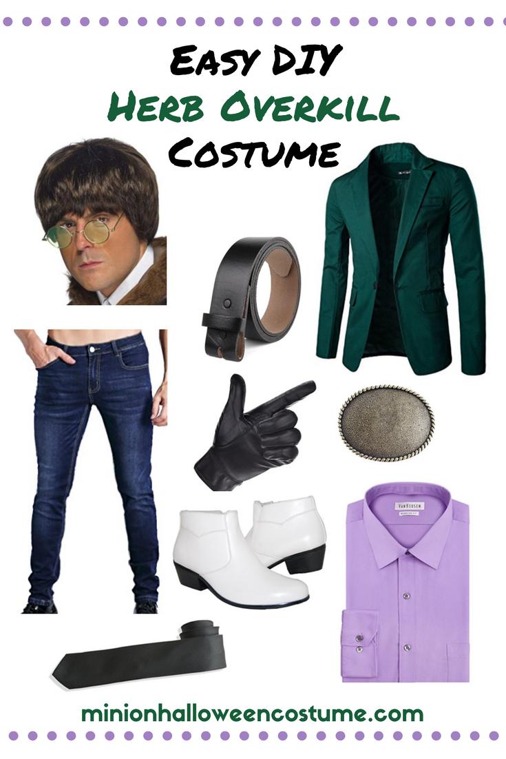 Easy DIY Herb Overkill Costume