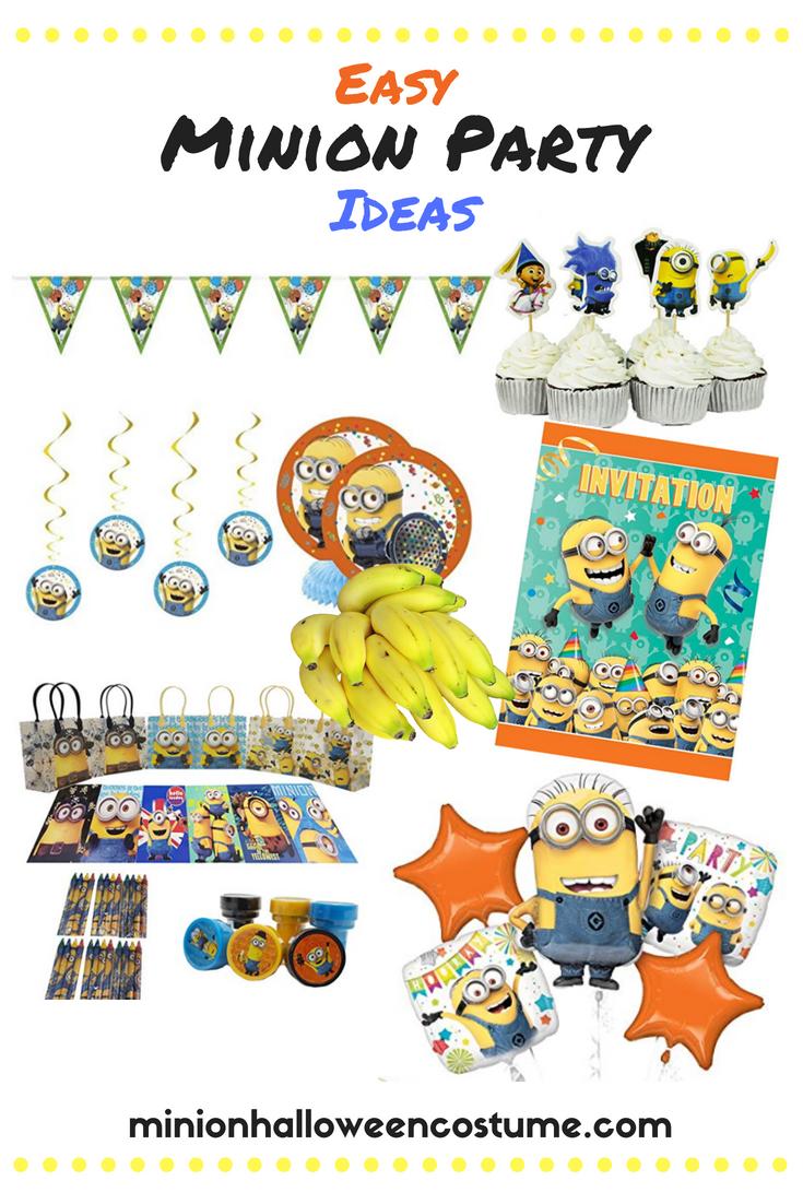 Easy Minion Party Ideas