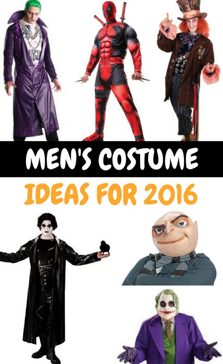 Men's Costume Ideas 2016