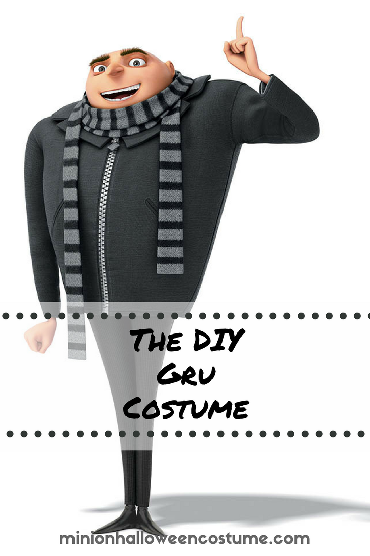 The DIY Gru Costume