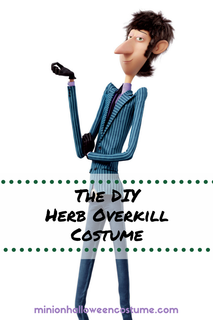 The DIY Herb Overkill Costume